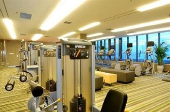 郑州郑东新区雅乐轩酒店健身房