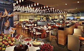 青岛海尔洲际酒店品香苑自助餐厅