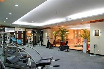 济南鲁能贵和洲际酒店健身房