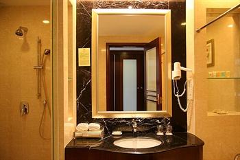 东莞会展国际大酒店豪华大床房-洗手间