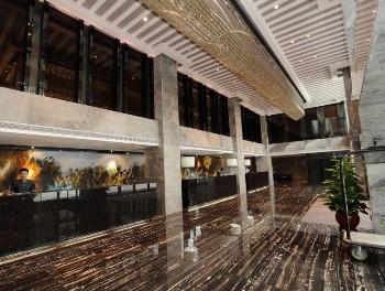 广州丽柏国际酒店大堂