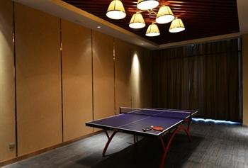 南京金陵新城饭店乒乓球室