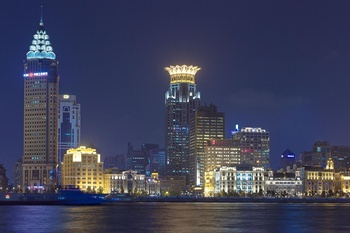上海威斯汀大饭店酒店外观图片