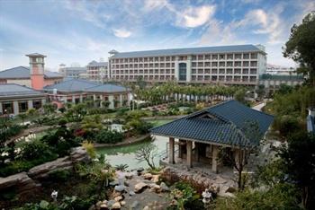 东莞旗峰山铂尔曼酒店外观图片