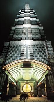 上海金茂君悦大酒店夜景图片