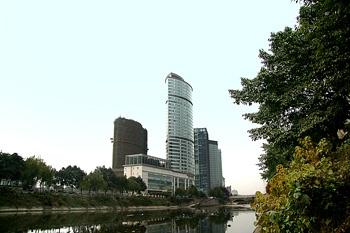 成都盛捷江畔服务公寓酒店外观图片
