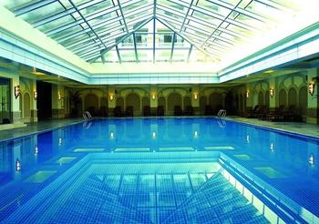 广州增城碧桂园凤凰城酒店室内游泳池