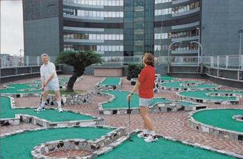 珠海银都嘉柏大酒店迷你高尔夫