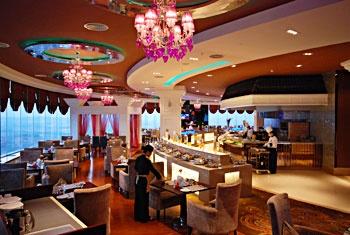 晋江荣誉国际酒店旋转餐厅