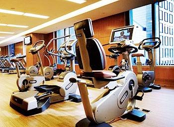 北京丽晶酒店健身房