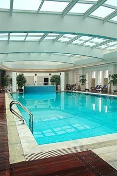成都泰合索菲特大饭店游泳池