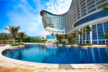 深圳大梅沙京基洲际度假酒店室外泳池
