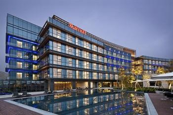 深圳欢乐海岸万豪行政公寓酒店外观图片