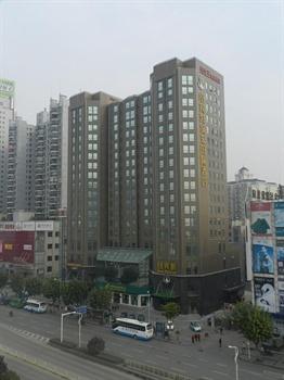 武汉纽宾凯国际酒店(徐东地铁站店)酒店外观图片