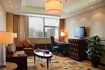 贵阳喜来登贵航酒店豪华套房--客厅