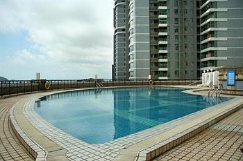 珠海怡景湾大酒店游泳池