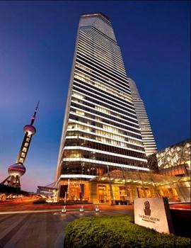上海浦东丽思卡尔顿酒店外观图片