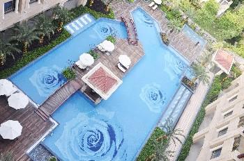 福州名城豪生大酒店游泳池
