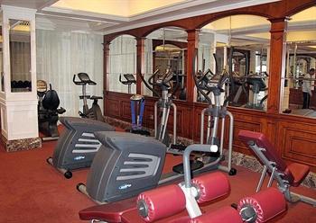 广州威尔登酒店健身房