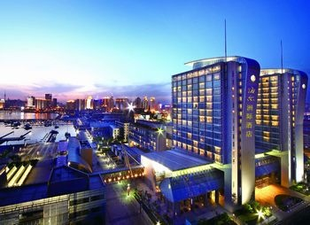 青岛海尔洲际酒店酒店外观图片