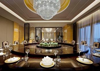 武汉富力威斯汀酒店中国元素餐厅包间
