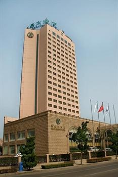 青岛丽晶大酒店酒店外观图片