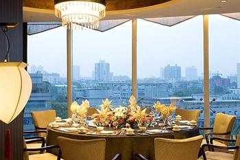 南京索菲特银河大酒店餐厅包间