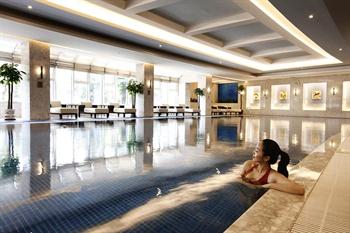 北京北辰五洲皇冠国际酒店游泳池