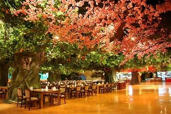 大连香洲花园酒店地球村美食公园