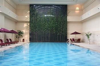 河北宾馆中茂海悦酒店游泳池