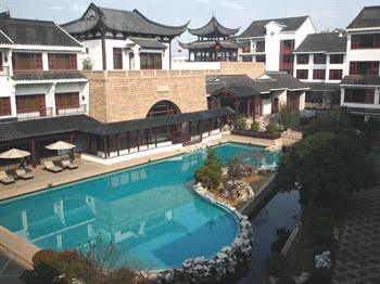 苏州吴宫泛太平洋酒店游泳池