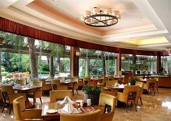 惠州康帝国际酒店二楼意大利西餐厅