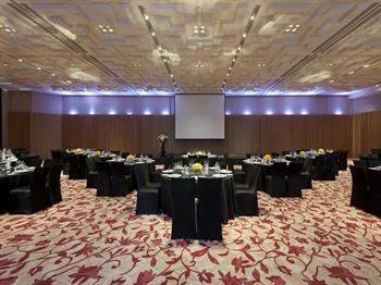 上海新天地安达仕酒店宴会厅宴会式 banquet black