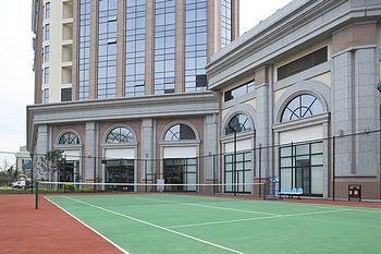青岛宝龙福朋喜来登酒店网球场