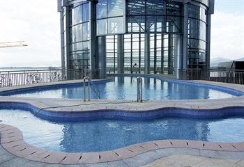 杭州富阳国际贸易中心大酒店游泳池